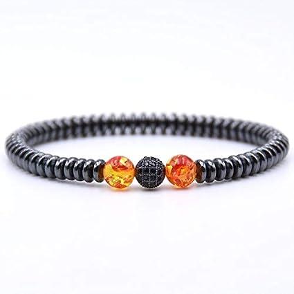 Amazon.com: Zozu Minimalist Natural Stone Bracelet Men 8mm ...