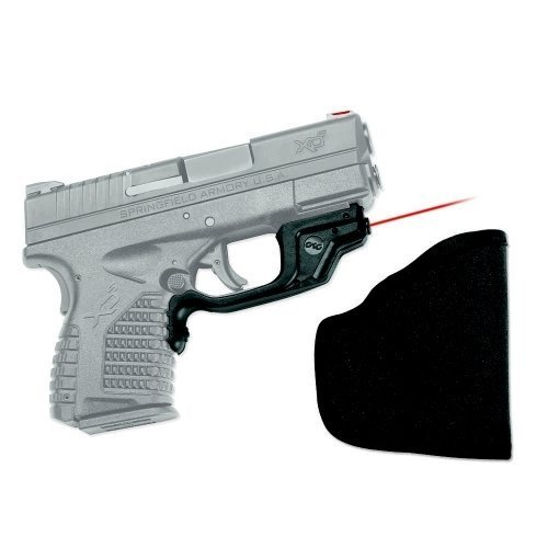 Crimson Trace Lg-469 Laserguard Red Laser Sight for Springfield Armory XD-S Pistols with Holster LG-469H Laserguard for Springfield Armory XD-S with Holster