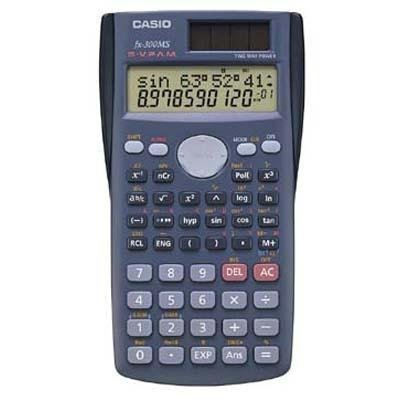 Casio fx-300MS Scientific Calculator, Pack of 10 (Teacher Pack) by Casio