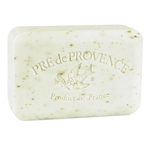 Pre de Provence Artisanal French Soap Bar Enriched with Shea Butter, Quad-Milled For A Smooth & Rich Lather (250 grams) - White Gardenia