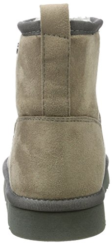 Mujer Buffalo 334774 77 Grey Botas para Fiber Antideslizantes Shoes 01 Micro Gris c8TrqO4T