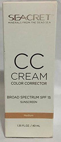 Seacret CC Cream Color Corrector Medium 1.35 oz