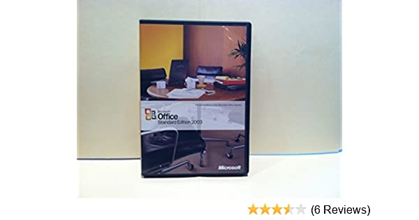 ms office standard edition 2003