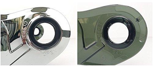 LS2 Anti-Scratch FF325// FF370// FF394 Motorcycle Helmet Visor Face Shield Silver