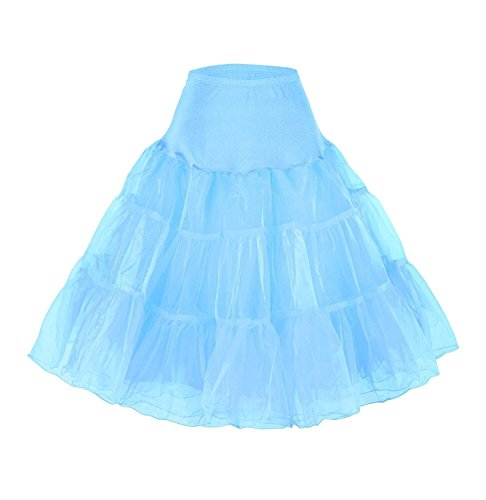 Tidetell Vintage Women's 50s Rockabilly Tutu Skirt 26