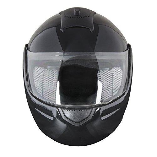 Epic Helmets - EPIC Modular Helmet (Gloss Black, Large)