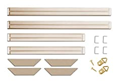 ✔USA Wholesaler ✔U-shaped fasteners allow the canvas to fold into the miter, creating neat and perfectly folded corners        With the clamps. ✔Bars snap easily into place, providing constant tension for a tight, drum-like feel ✔The stretche...