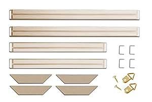 251d63cd71ab Amazon.com  DIY Solid Wood Canvas Frame Kit (16
