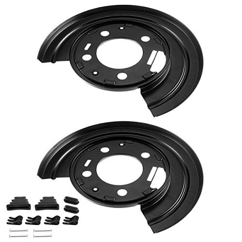 A-Premium Brake Dust Shield for Ford Excursion F-250 F-350 F-450 Super Duty 1999-2005 2011-2015 Rear Driver and Passenger Side