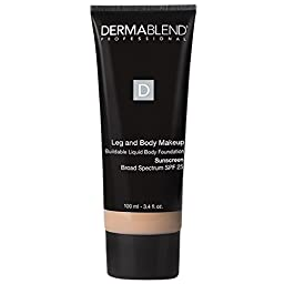 Dermablend Leg and Body Cover SPF 25, Fair Ivory 10N, 3.4 Ounce