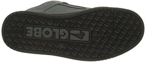 Black Uomo Globe Sneaker Nero Charcoal Tilt qAYO1A