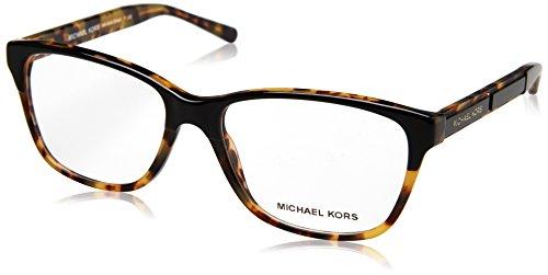 Michael Kors Women's 0MK4044 Black Tortoise One Size (Black Michael Kors Frames)