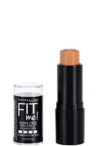 Maybelline Fit Me Shine-Free + Balance Stick Foundation, Pure Beige, 0.32 oz.