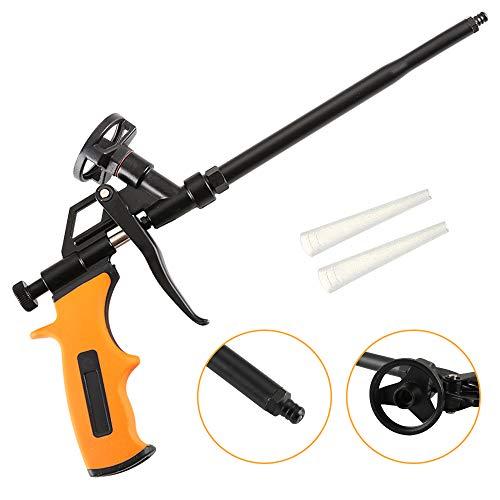 (Foam Gun Upgrade Caulking Gun Pu Expending Foaming Gun Heavy Duty Spray Foam Gun Suitable for Caulking Filling Sealing Home and Office Use)