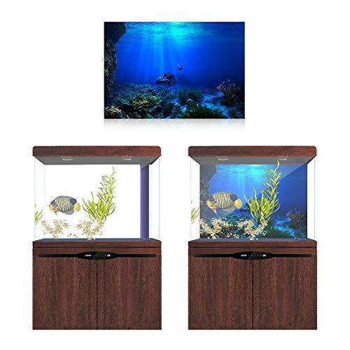 Vobor Adhesivo de Efecto acuático Poster-3D Seaworld Poster para ...