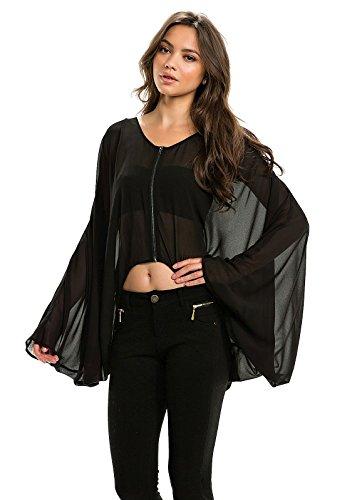 Elan  (Chiffon Bat Wings)