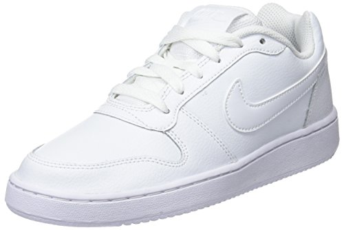 Nike Men's Ebernon Low Sneaker, White, 5 Regular US