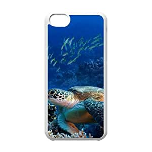 Sea Turtle Original New Print DIY Phone Case for Iphone 5C,personalized case cover ygtg565001