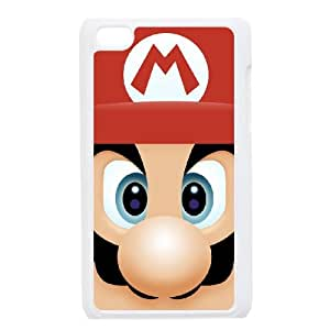 iPod Touch 4 Case White Super Mario Bros Dvig