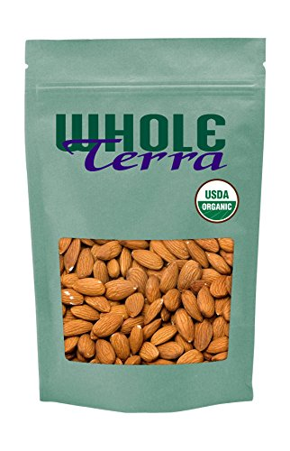 Whole Terra California Organic and Raw Whole Almonds (1 Pounds)