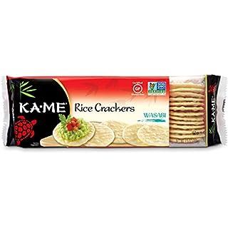 Ka-Me Gluten Free Rice Crackers, Wasabi, 3.5 Ounce (Pack of 12)