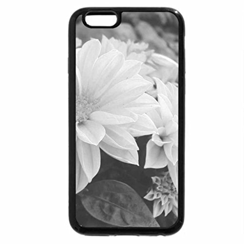 iPhone 6S Case, iPhone 6 Case (Black & White) - The Flowers of May