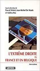 L'Extrême Droite en France et en Belgique
