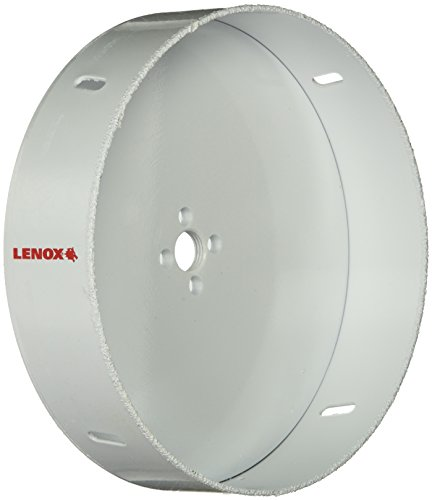 Lenox Tools 30864678RL Master Grit Recessed Lighting Hole Saw, 6-7/8-Inch