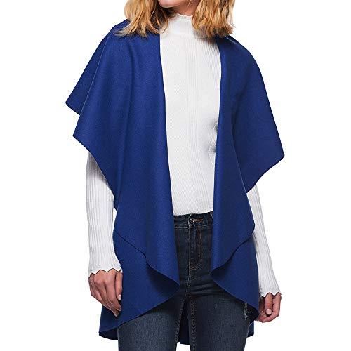 Capuche À Femme Bleu Blouse Veste Coupevent Tops Manteau Pullover Longues Blouson Shobdw Rabattu Hoodie Mode Sweatshirt Col Hiver Manches OqwSxqR8H