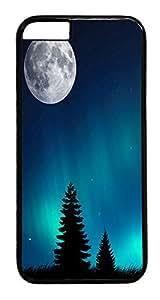 ACESR Aurora Borealis iPhone 6 Hard Case PC - Black, Back Cover Case for Apple iPhone 6(4.7 inch)