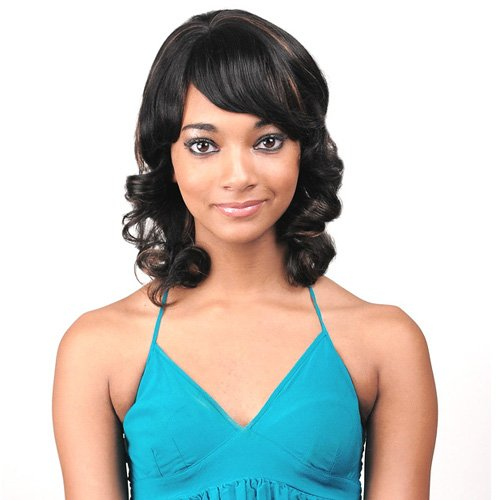 JUNEE FASHION Human Hair Wig - HH ELLEN (#4/30 - Light Brown/Medium Brown)
