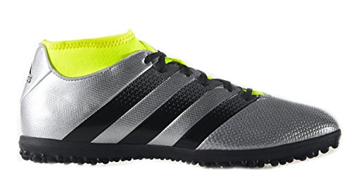 期限切れ軽減する成果adidas MEN'S SOCCER ACE 16.3 PRIMEMESH TURF SHOES(Silver/Yellow)/サッカー シューズ ACE 16.3 PRIMEMESH ターフ用