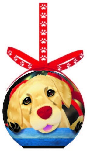 - D&D Dog Breed Blinking Christmas Classic Ornament With Extra Batteries (Golden Retriever)