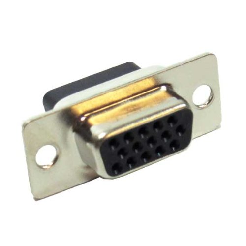 HD15 Female Crimp D-Sub Connector