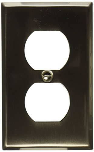 - MINTCRAFT 882-07-SOU Outlet Plate Single, Brush Nickel