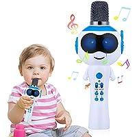 Mbuynow LED Lights Variable Microphone Bluetooth 5.0 Karaoke Machine