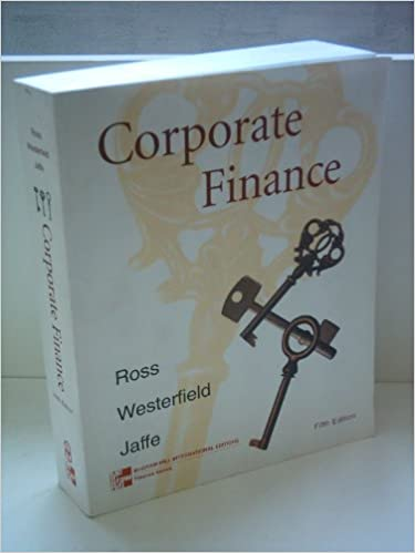 Amazon solutions manual for corporate finance 9780256261943 amazon solutions manual for corporate finance 9780256261943 stephen a ross randolph w westerfield jeffrey jaffe randolph westerfield books fandeluxe Images