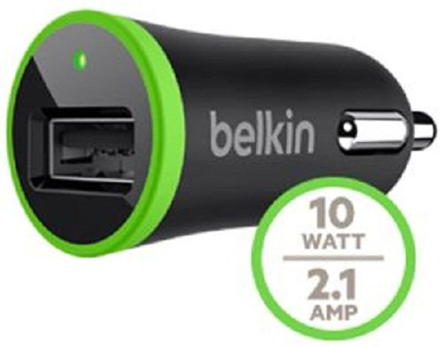 Belkin F8J078bt04-BLK F8J078 2.1 Amp Car Charger with Lightning to USB Cable - Retail Packaging - Black by Belkin (Image #3)