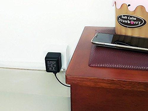Ctronics Hidden Spy Camera 1080P HD WiFi AC Power Adapter