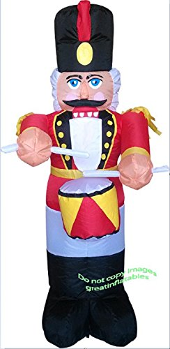 Christmas Inflatable Colossal 20 Ft Lighted Nutcracker