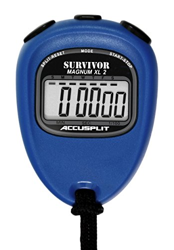 ACCUSPLIT New Survivor 2 - Blue New Survivor SX 2 Series Stopwatch by ACCUSPLIT