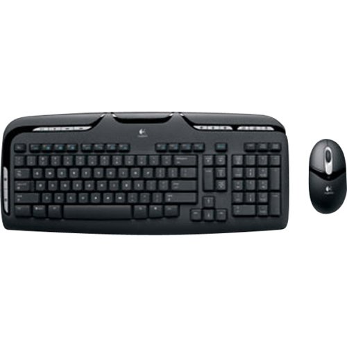 Logitech Cordless Desktop EX110 (967561-0403) (Logitech Cordless Desktop Keyboard Mouse)