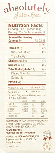 Absolutely Gluten Free Original Flatbread, 5.29-Ounce (6 Pack)