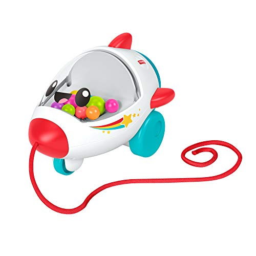 Fisher-Price Pull Along Rocket (Pull Along Toys For A 1 Year Old)