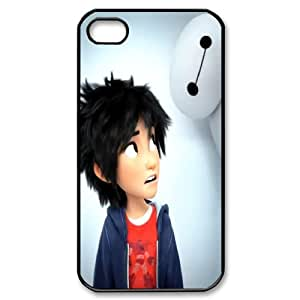 Cute baymax Disney BIG HERO 6 Hard Plastic phone Case Cover For Iphone 4 4S case cover ZDI084599