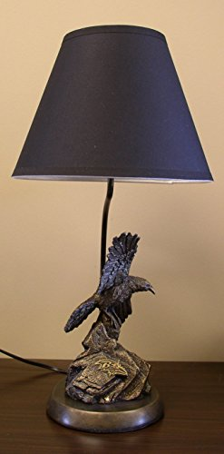 NFL Baltimore Ravens Baltimore Ravens TIM WOLFE LAMP by Wild Sports