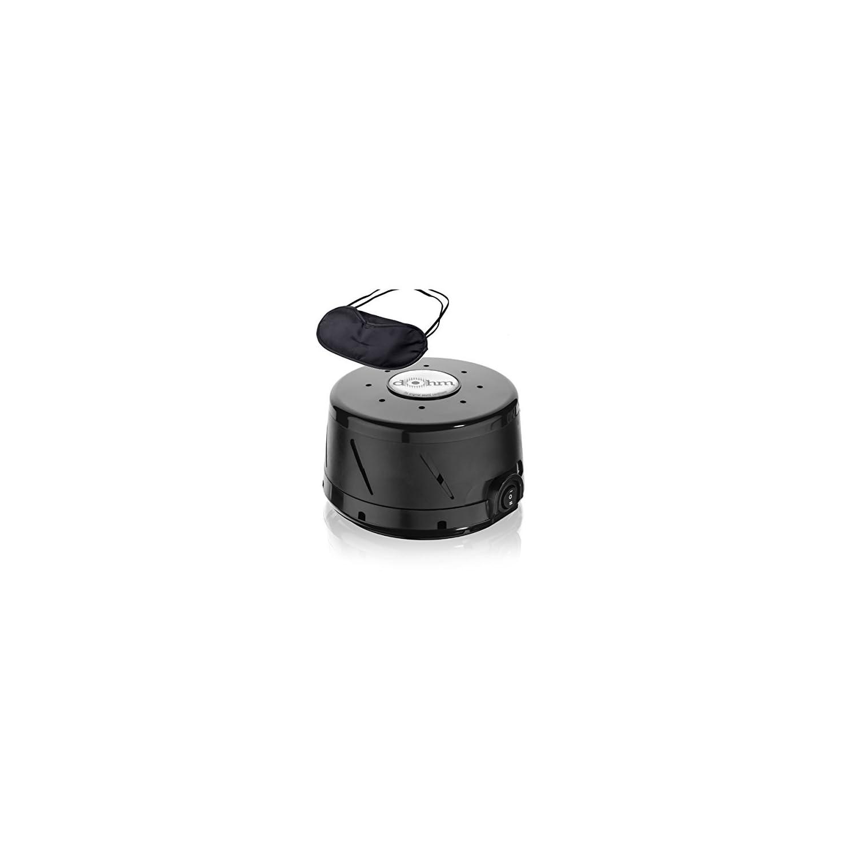 Marpac Dohm-DS All Natural Sound Machine, Black & Zonoz Sleepy Eyez Lightweight Sleeping Mask (Bundle)