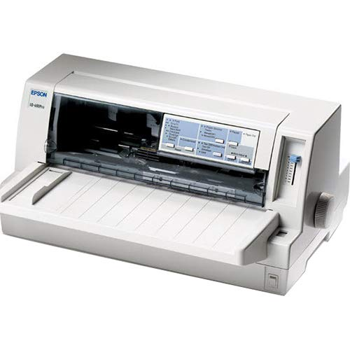 - Epson C376101 LQ-680 Pro Dot Matrix Printer 24-pin - 413 CPS Mono - 360 x 360 dpi - Parallel