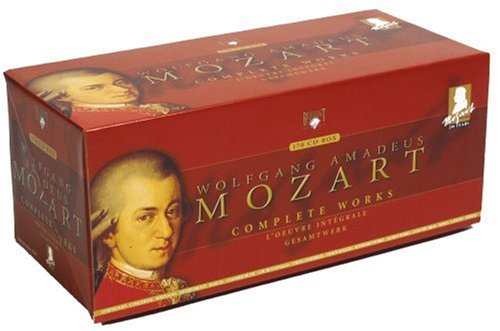 Mozart Edition: Complete Works (170 CD Box Set) by Brilliant Classics