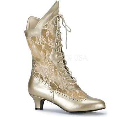 Lace Ankle Women Dame115 Lining B Gold Pu Boots Funtasma Warm 4wazFxq